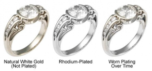 rhodium rings