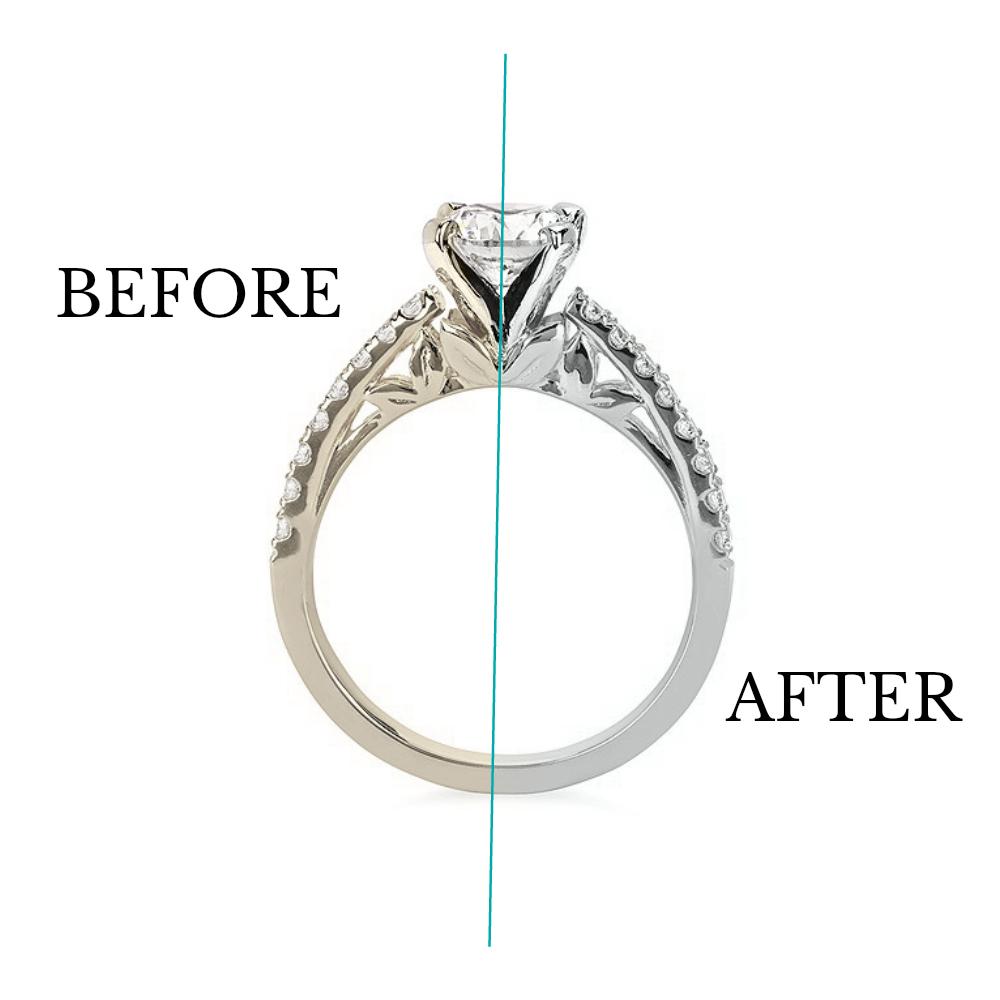 Rhodium Plating- JF Jones Jewelers